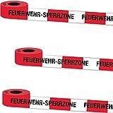 Diverse 2x10 Meter Feuerwehrabsperrung / Absperrband / Feuerwehr Party