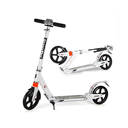Lowest Prices! NAN Foldable Scooter, Adjustable Height Scooter with A Bearing Capacity of 150kg (Col...