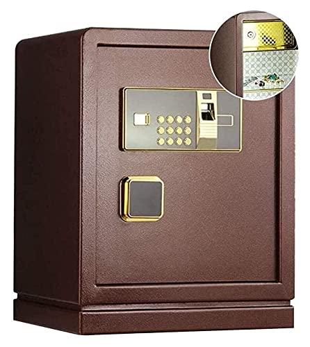 Cajas fuertes y hucha, cajas de seguridad para el hogar, caja fuerte para huellas dactilares, cerradura de combinación para el hogar, caja fuerte, pequeña, para empotrar en la pared, para oficina, ju