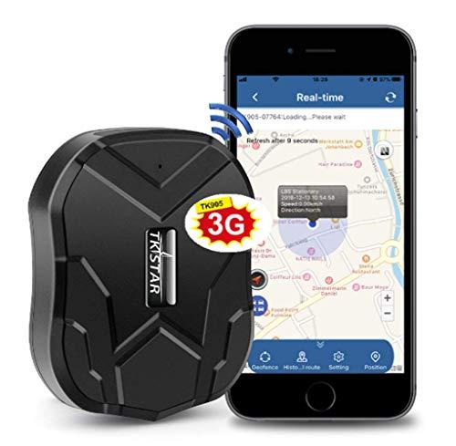 TKSTAR Personal GPS Tracker-5000mah Rechargeable 90 Days TK905 Strong Magnet Google Map Tracking Car GPS Tracker Seniors Children Pets GPS Locator Onpoint Tracking Platform