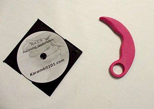 Multi-Range Combat Science (M.R.C.S) Pink Pencak Silat Karambit Trainer Knife Kali Training Techniques DVD Bukti Negara