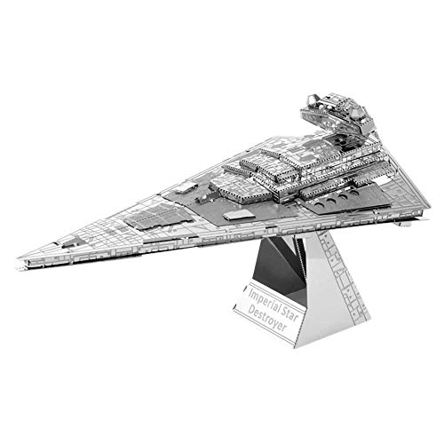 METAL EARTH MAQUETA/PUZZLE 3D De metal. -ICONX STAR WARS IMPERIAL STAR DESTROYER Monta tus modelos favoritos en casa. (ICX130)