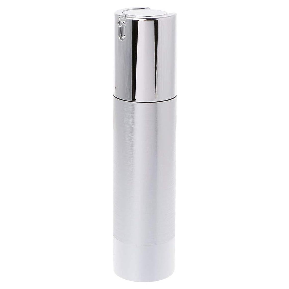 上げる想定する砂利Dabixx 空のエアレスボトル化粧品プラスチックポンプコンテナトラベルツール15 30 50ml - 50ML