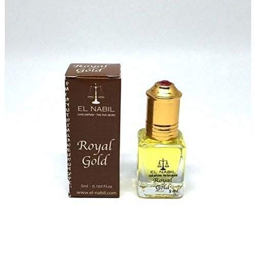 Almizcle EL NABIL 5ml ROYAL GOLD 100% Aceite