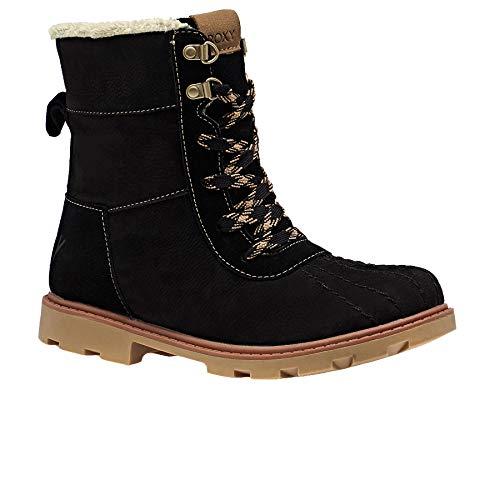Roxy Damen Meisa- Waterproof Winter Boots for Women Schlupfstiefel, Schwarz (Black Blk), 39 EU