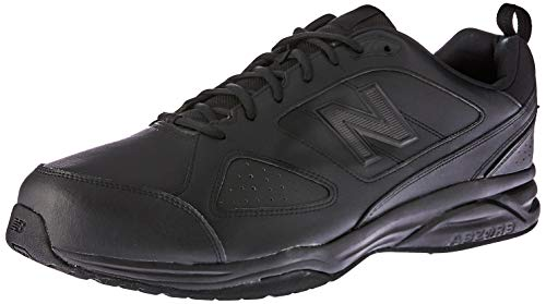 New BalanceMX624AB4 - Zapatillas Deportivas para Interior hombre, color negro, talla 41.5 (talla fabricante: 7.5 UK)