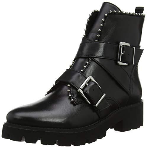 Steve Madden Damen Hoofy Ankleboot Kurzschaft Stiefel, Schwarz (Black Leather 017), 40 EU