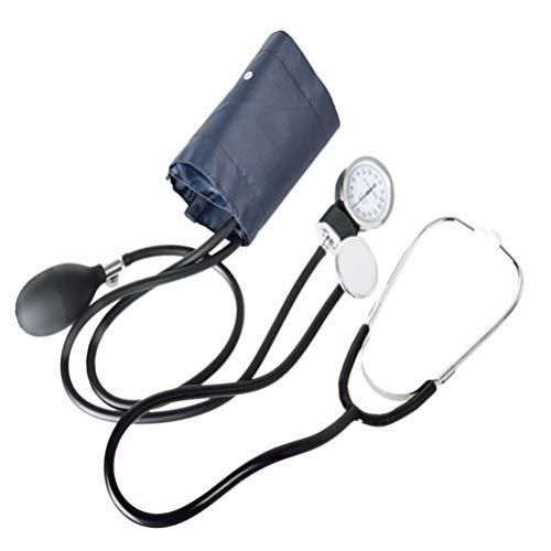Supvox Manuelle Blutdruckmessgerät Manschette Manometer Blutdruckmessgerät Maschinensatz mit Stethoskop für zu Hause Schüler reisen