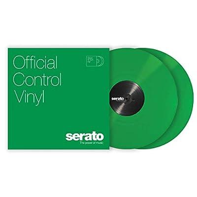 "12"" Serato Control Vinyl - Standard Colors - Green (PAIR)"