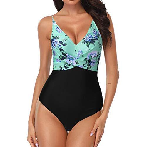 Frauen Sommer Badeanzug Mode Sling Blume Drucken Badeanzug Sexy schön Einteiliger Badeanzug YunYoud Strand Mode billige bademode Bodysuit Classic Bikini