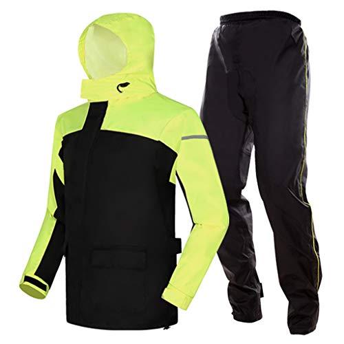 TO Dream Rain Herenjas, winterjas, waterdicht, fietsen, thermisch, ademend, lange mouwen, sport-rijbroek