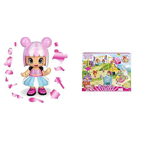 Pinypon Magic Secret Code Gran Figura de 30cm Sorpresa para niños y...