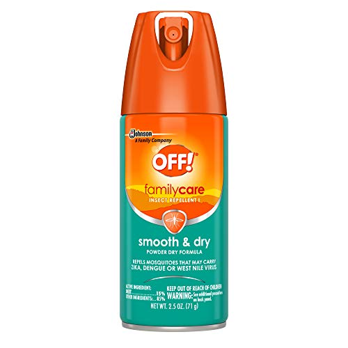 OFF! Family Care Insect & Mosquito Repellent I, Smooth & Dry Bug Spray for the Beach, Backyard, Picnics and More, 2.5 oz. (Pack of 12)