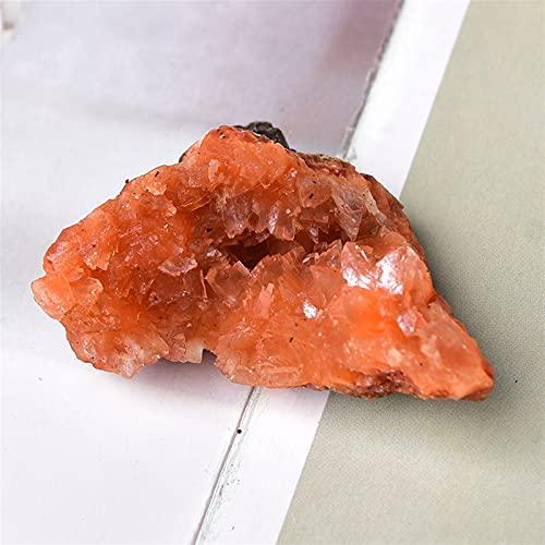 JSJJATQ Cuentas de Piedras Cristal Natural Apophyllite Grave Espacio Irregular Ore REPARACIÓN Roca MINERA COLECCIÓN AQUARIO Decoración para el hogar Regalo 1pc (Color : Apophyllite, Size : 30-40g)