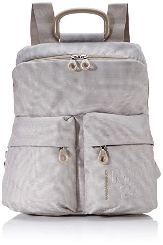 Mandarina Duck Damen Md20 Tracolla Rucksack, Beige (Irish Cream), 10x34x30 Centimeters