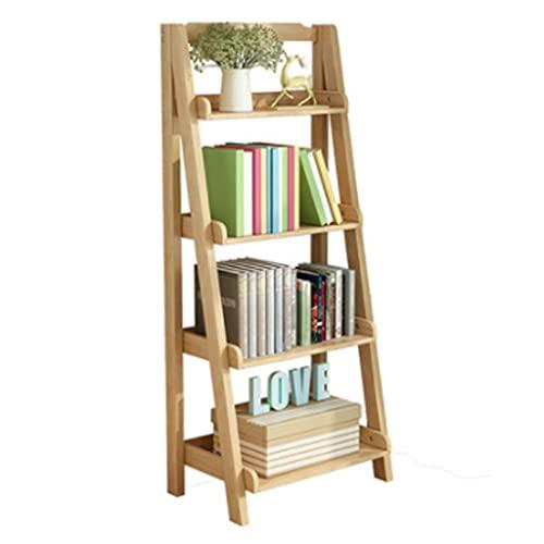 jiji libreros Estante de Madera Maciza, estantería en Forma de Escalera, Estante...