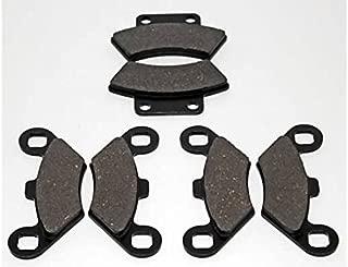 Cycle ATV - Brake Pads - Front and Rear - fits Polaris Big Boss Scrambler Magnum Xplorer Sportsman Trail Blazer Xpress