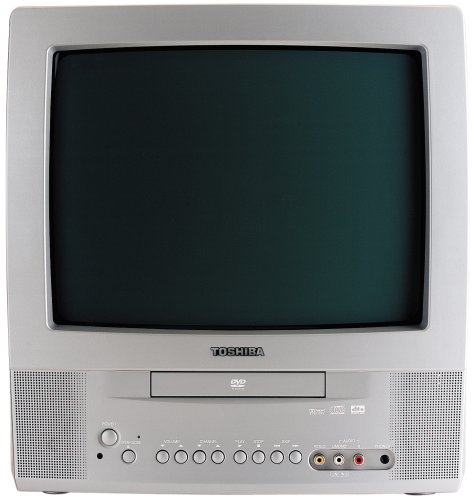 Toshiba MD13Q42 13' CRT TV with DVD Player
