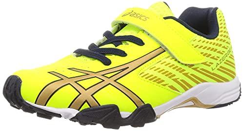 [アシックス] 運動靴 LAZERBEAM SG-MG 21 秋冬 キッズ 751(ネオンイエロー/ゴールド) 20.0 cm