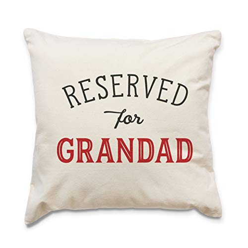 Big Red Egg RESERVED FOR GRANDAD - Cushion Cover Pillow - Gift Present