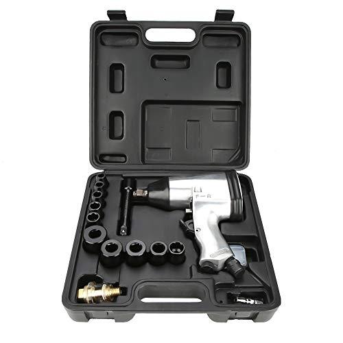 Professionele slagschroevendraaier, pneumatische steeksleutelset (High Torsion Air Tool Set met 10 stopcontacten).