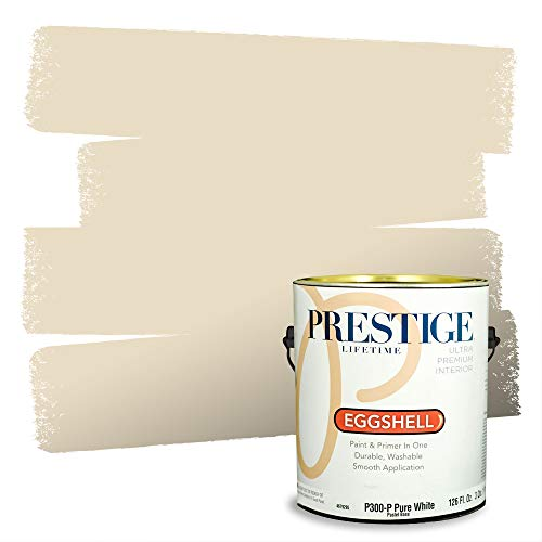 Prestige Paints Interior Paint and Primer In One, 1-Gallon, Eggshell, Comparable Match of Benjamin Moore* Pale Almond* Arizona