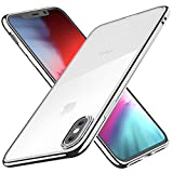 Funda para iPhone XS, Funda para iPhone X, Joyguard Carcasa para iPhone XS/X Transparente Cristal Silicona Suave Delgado...