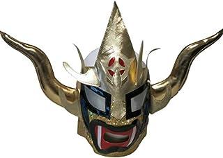 【プロレス マスク】獣神サンダー・ライガー レプリカマスク 髪無頭開 ゴールド ルチャリブレ プロレス 23415/23579
