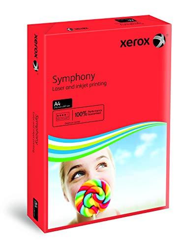 Xerox 03R93954 Symphony Farbpapier multifunktional geriest 80 g/m² A4 500 Blatt dunkelrot