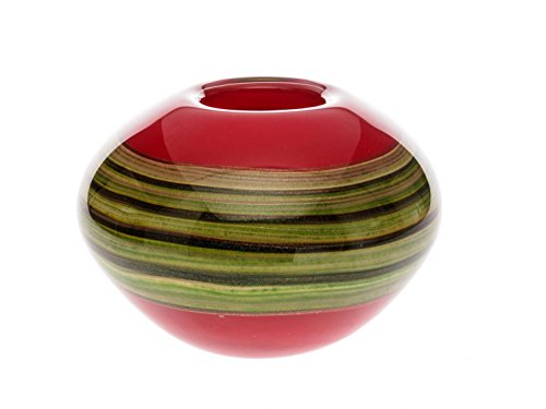 Vaso di Vetro Stile Murano Stile Antico Tabella Vase 5kg Pesante