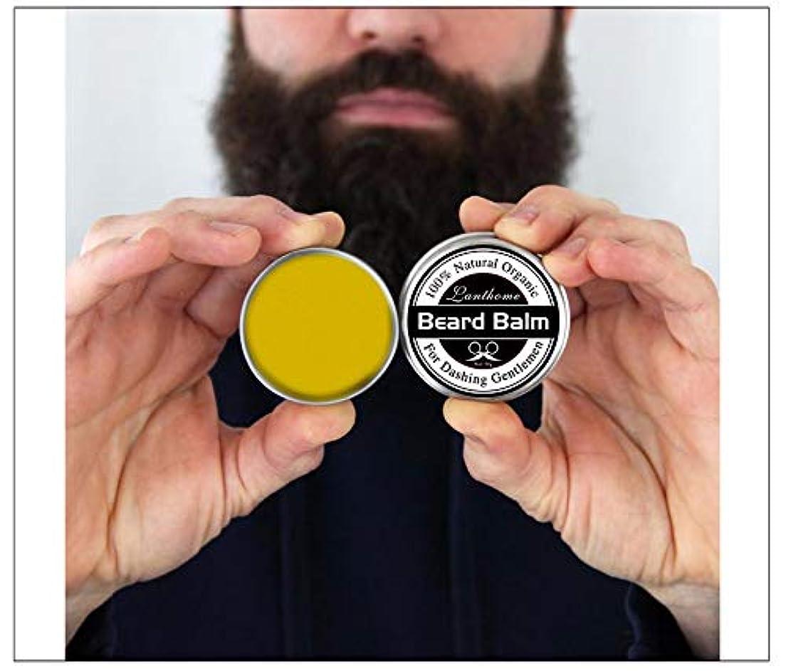 居間日記リース3pcs X Top Quality 30gr Natural Beard Conditioner Beard Balm For Beard Growth And Organic Moustache Wax For Beard Smooth Styling