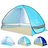 BATTOP Pop Up Beach Tent Sun Shelter Anti UV Beach Shade Tent for Outdoor Set Up in Seconds 3-4...
