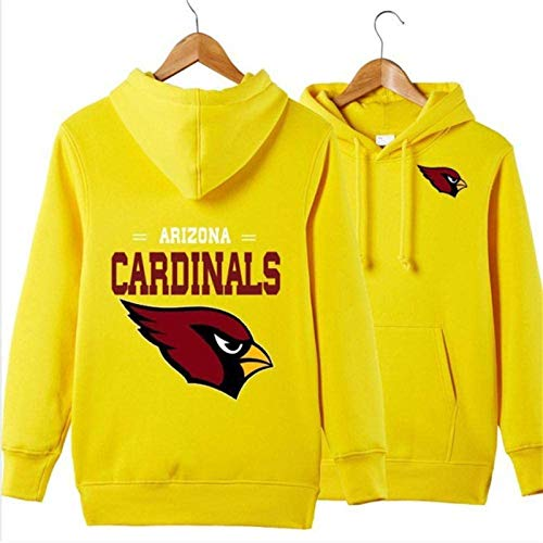 Sudadera unisex para hombre, diseño de Arizona Cardinals Rugby Fans Jersey Marea marca Casual Sudadera de manga larga primavera chaqueta (talla XXXL)