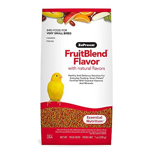 Zupreem - Alimento para Aves Muy Pequeñas FruitBlend   Pienso Canarios y Pinzones (200 g)