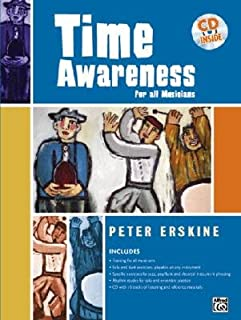 Time Awareness: For All Musicians [With CD] [TIME AWARENESS] [Paperback]