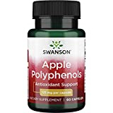 Swanson Maximum Strength Apple Polyphenols 125 Milligrams 60 Capsules