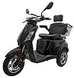 Elektromobil VITA CARE 1000 Seniorenmobil E-Roller E-Scooter mit Straßenzulassung Elektro Roller, Weiß