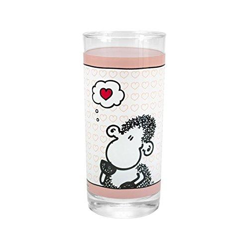 "Sheepworld 42695 Trinkglas ""Denke ..."""