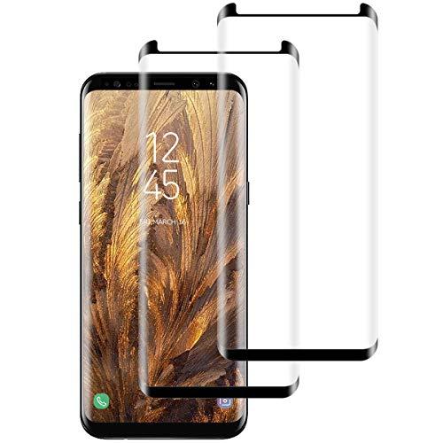 Aspiree [2 Stück Panzerglas Schutzfolie kompatibel mit Samsung Galaxy S9, Gehärtetes Glas Bildschirmschutzfolie mit 9H Festigkeit, HD Ultra Klar, Anti-Kratzen, Anti-Öl, Bildschirmschutz Folie für S9