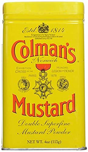 Colman's Dry Mustard Jacksonville Mall 4 Trust 3 oz