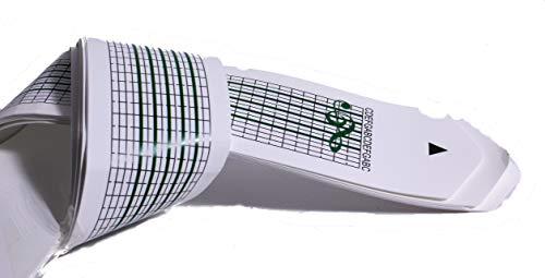 Schaepers Kaleidoskope Ersatzlochstreifen / 5 Stck / Blankostreifen / für Spieluhr mit Lochstreifen zum Selbstkomponieren