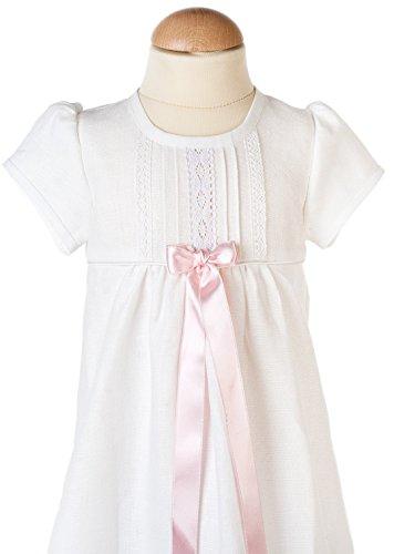 Grace of Sweden - Costume de baptême - Bébé (garçon) 0 à 24 mois blanc No bow 80/86, 11-18 month, chest 20,5 in.