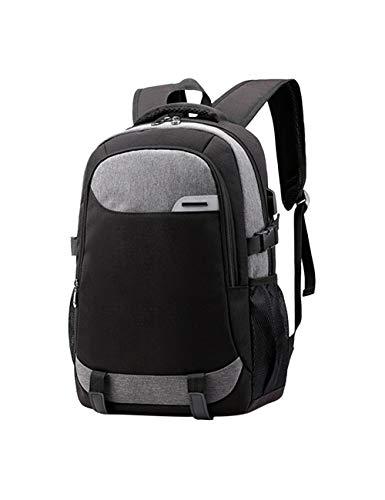 Reizen Laptop Rugzak voor Mannen Vrouwen - Zakelijke Rugzak met USB-oplaadpoort Laptop Tas Slank Grote Capaciteit Waterafstotend Schooltassen Casual Dagrugzak Geschikt voor 15,6-inch Notebook