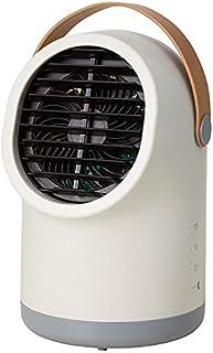 Three-up スリーアップ 充電式 ポータブル冷風扇 サンドベージュ