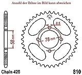Kettenrad mit 38 Zähnen für RKV 125 2011-2015 von jt-Sprockets