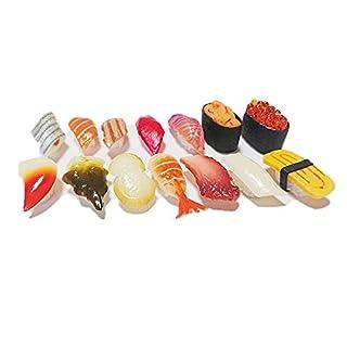 食品 サンプル 握り 寿司 14 種類 セット 実物大 プレゼント お供え ままごと 教材 サンプル (A)