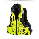 Giubbotto di Salvataggio, Cerniera Galleggiabilità in Nylon Giubbotto Affare Galleggiabilità Aiuto al Nuoto Ragazzi per Ragazze Aiuto al Galleggiamento Aiuto Canoa (Color : Yellow, Size : XXL)