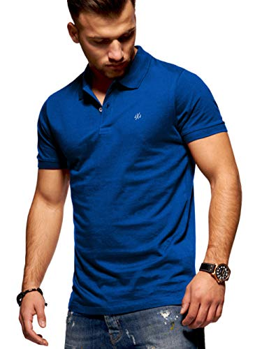 JACK & JONES Herren Poloshirt Polohemd Shirt Basic Polo Taxis (Medium, Surf The Web)