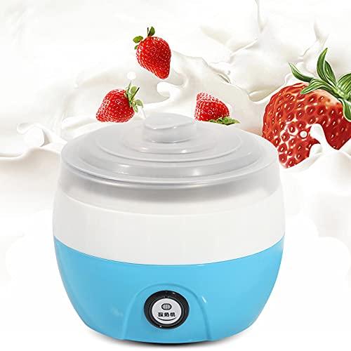 Yogurtera eléctrica automática, 1 L, acero inoxidable, yogur automático, entusiasta del bricolaje...