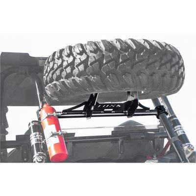 Tusk Heavy Duty Spare Tire Carrier - Includes Lug Nuts - POLARIS RZR XP Turbo 1000 XP4